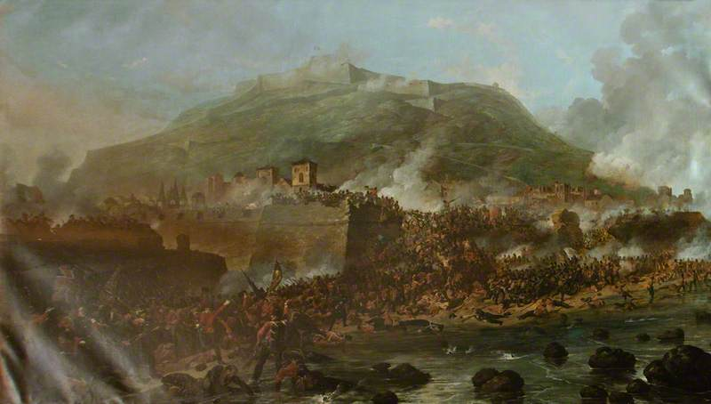 Denis_Dighton_Storming_of_San_Sebastian