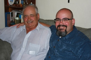 Blas and his father, Pedro.