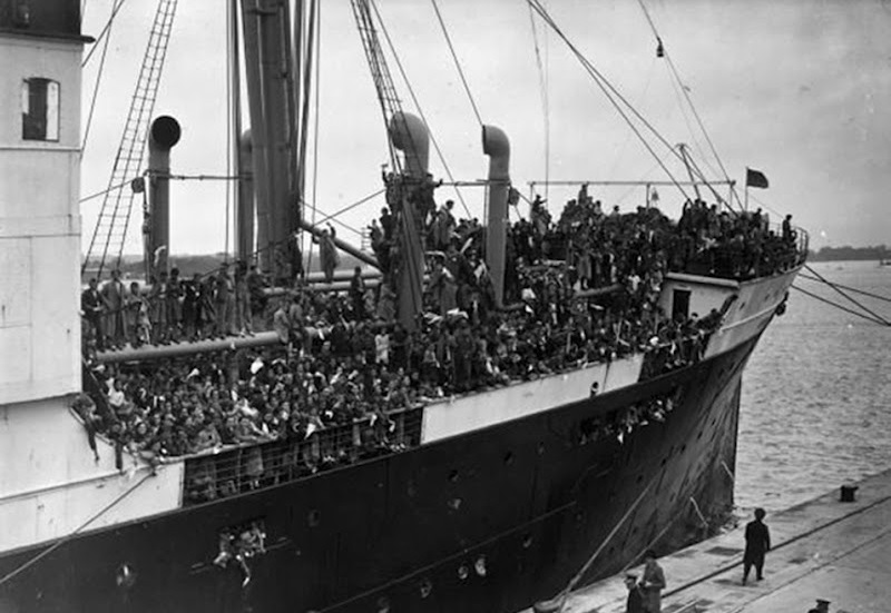 Basque Children aboard Habana